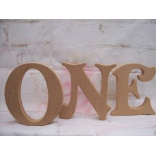 18mm MDF Victorian Font Letters Starts at 150mm