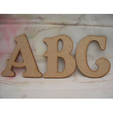 3mm MDF Letter in Belshaw font Starts at 50mm in size upper case