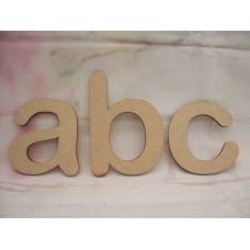 "An MDF  Letter in ""Arial Rounded MT Bold"" font Starts at 50mm tall"