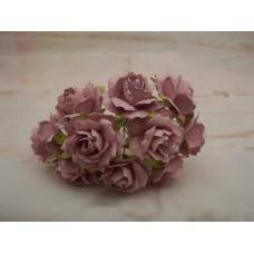 Mauve Paper Roses PK10