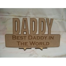 Best Daddy in the world 210mm