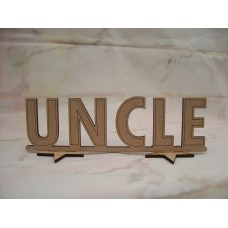 Standing Uncle plaque 180mm