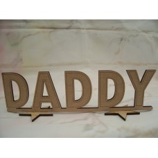 Standing Daddy plaque 200 mm