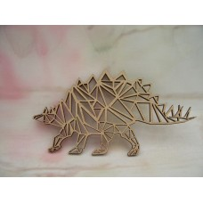 Laser cut Poly-Geometric Stegosaurus starts at 150mm