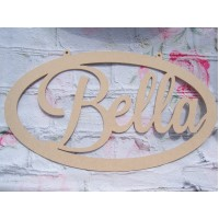 Personalised name plaque 450mm
