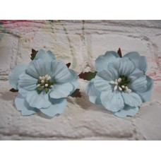 Paper Peonies Blue pack of 5