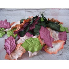 Mulberry Paper holly Leaves PK50