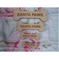 Santa Paws Dog Bones Varied sizes