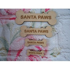 Santa Paws Dog Bones Varied sizes