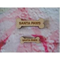 Santa Paws Dog Bones 30mm PK10