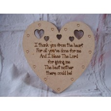 Sentiment Heart  I thank You From