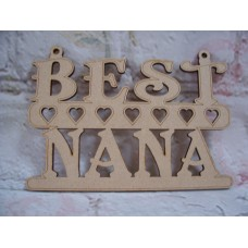 Best Nana Plaque