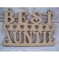 Best Auntie Plaque