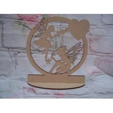 Standing Fairy Plaque
