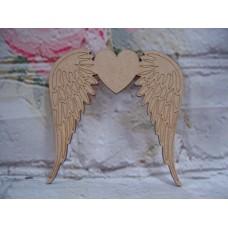 3mm MDF Angel wings Varied sizes