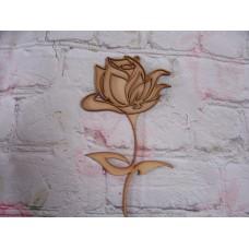 3mm MDF Layered Rose
