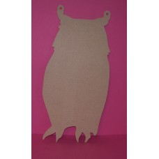 4mm Thick MDF Owl Chalk Board shape 300mm high