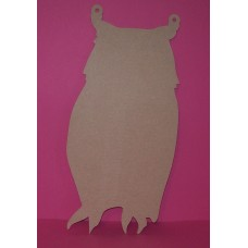 4mm Thick MDF Owl Chalk Board shape 300mm high Pack of 5