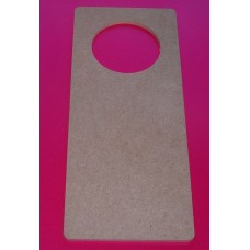 4mm MDF  Door Hanger with Hole