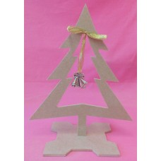 4mm Thick MDF Christmas tree with center hanging hole