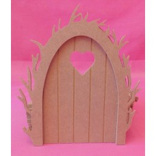 4mm Vine arch fairy door Heart window pack of 3