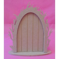 4mm Vine arch fairy door with a base pack of 3