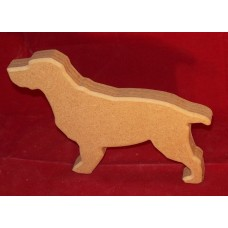 18mm Thick MDF Small Cocker Spaniel
