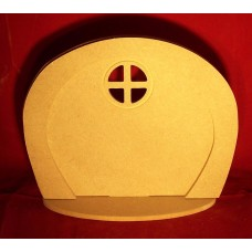 4mm Thick MDF Hobbit doors in a pack of 3