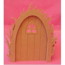 4mm Vine arch fairy door Arched window pack of 3
