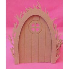 4mm Vine arch fairy door Round window pack of 3