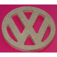 MDF VW Badge Small 50 mm pack of 5