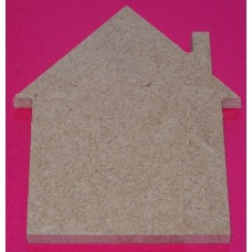 MDF House 100mm in size pack of 3