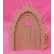 4mm Vine arch fairy door round window pack of 5