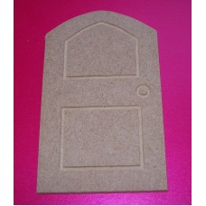 4mm Thick MDF  Engraved Door 100mm tall pack of 3