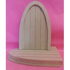4mm Thick MDF Grooved fairy Door pack of 5