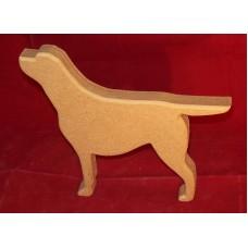 18mm Thick MDF Small Labrador Dog