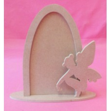 4mm Thick Fairy door with sitting fairy