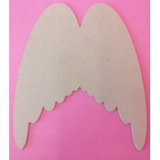 4mm Thick Large Angel wings 300mm tall