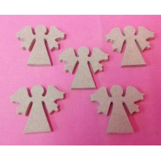 4mm Thick MDF Mini Angels pack of 10