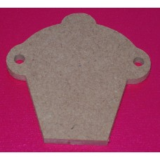 MDF cup cake Bunting