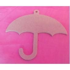 4mm MDF Umbrella 100mm in size