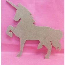 4mm MDF Unicorn 150mm pack of 2