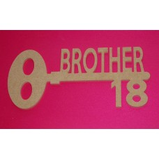 MDF Key with 18 for Brother