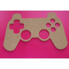 4mm Thick MDF Games  Controller 100mm tall pack of 2