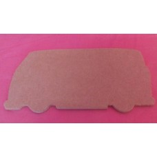 4mm MDF VW camper van plain 150mm pack of 3