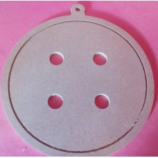 4mm MDF Button 150mm