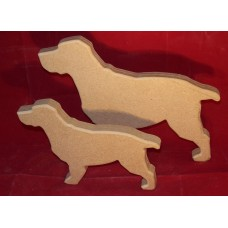 18mm Thick MDF Pair of Cocker Spaniels
