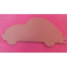 MDF VW Beetle 150mm in size pack of 3