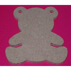 QTY 10 4mm thick   Bear Bunting 50mm size