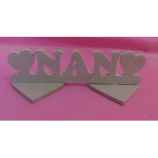 4mm MDF Standing  Nan plaque